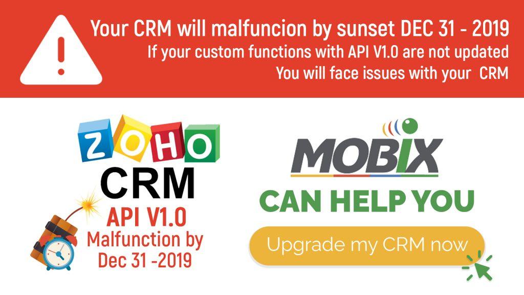 ZOHO CRM API V2.0