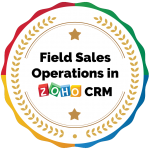 Field Sales Operations in Zoho CRM